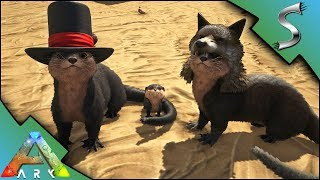 ARK OTTER TAMING! HOW TO TAME AND BREEDING! BABY OTTERS + HATS! - Ark: Survival Evolved [S4E30]