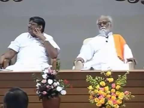 Thenkachi Swaminathan Speech - On Vedathri Maharishi