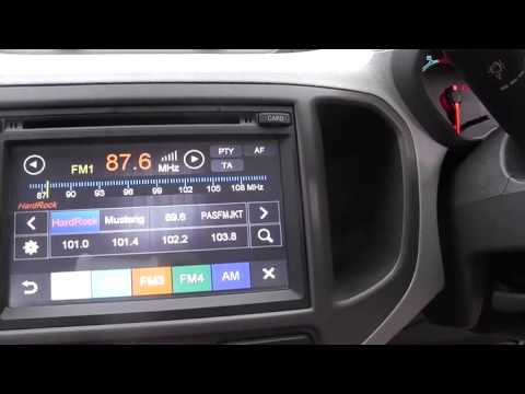 Chevrolet Spin Multimedia Headunit Overview Youtube