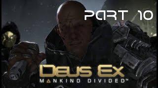 Deus Ex: Mankind Divided walkthrough Part 10 (IT'S A TRAP!!!)