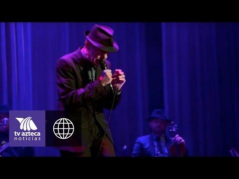 Falleció Leonard Cohen cantante canadiense