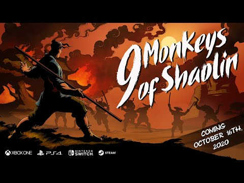9 Monkeys of Shaolin — Release Date Announcement from YouTube · Duration:  1 minutes 17 seconds