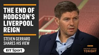 """""""It was uncomfortable playing under Hodgson."""" Steven Gerrard opens up on Liverpool and Roy"""