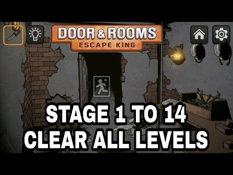 Doors Rooms Escape King Stage 1 To 14 Clear Gameplay Android Ios Gameplay Hd Youtube