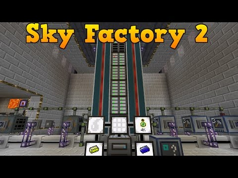 SkyFactory 2 - Update til Mega ME og Atom kraft