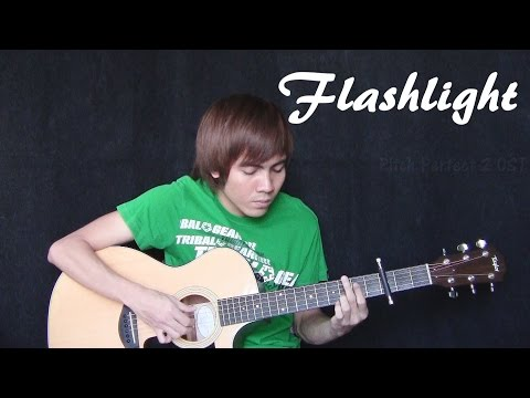 Flashlight - Pitch Perfect 2 OST - Jessie J (fingerstyle guitar cover) + Free Tab