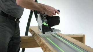festool ts 55 r plunge cut saw better flexibility control precision