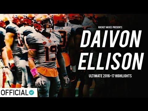 Syracuse Safety Daivon Ellison || 2016-17 Highlights