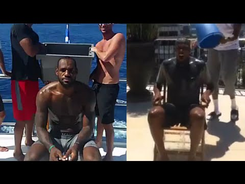ALS Ice Bucket Challenge – NBA Players (LBJ, KD, Kobe, Melo,..)