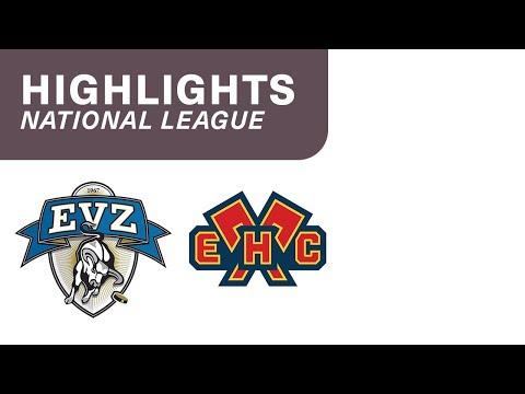 Zug vs. Biel 4:2 - Highlights National League