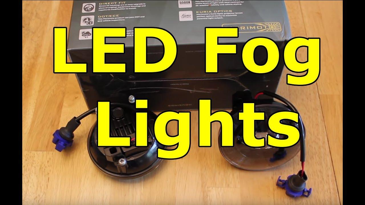 2014 Gmc Sierra Led Fog Light Install Youtube 2015 Silverado Wiring Harness
