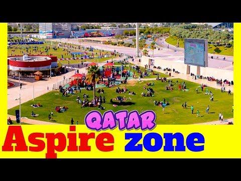 Aspire zone Qatar Doha sports city has Aspire dome torch tower khalifa stadium aspire park