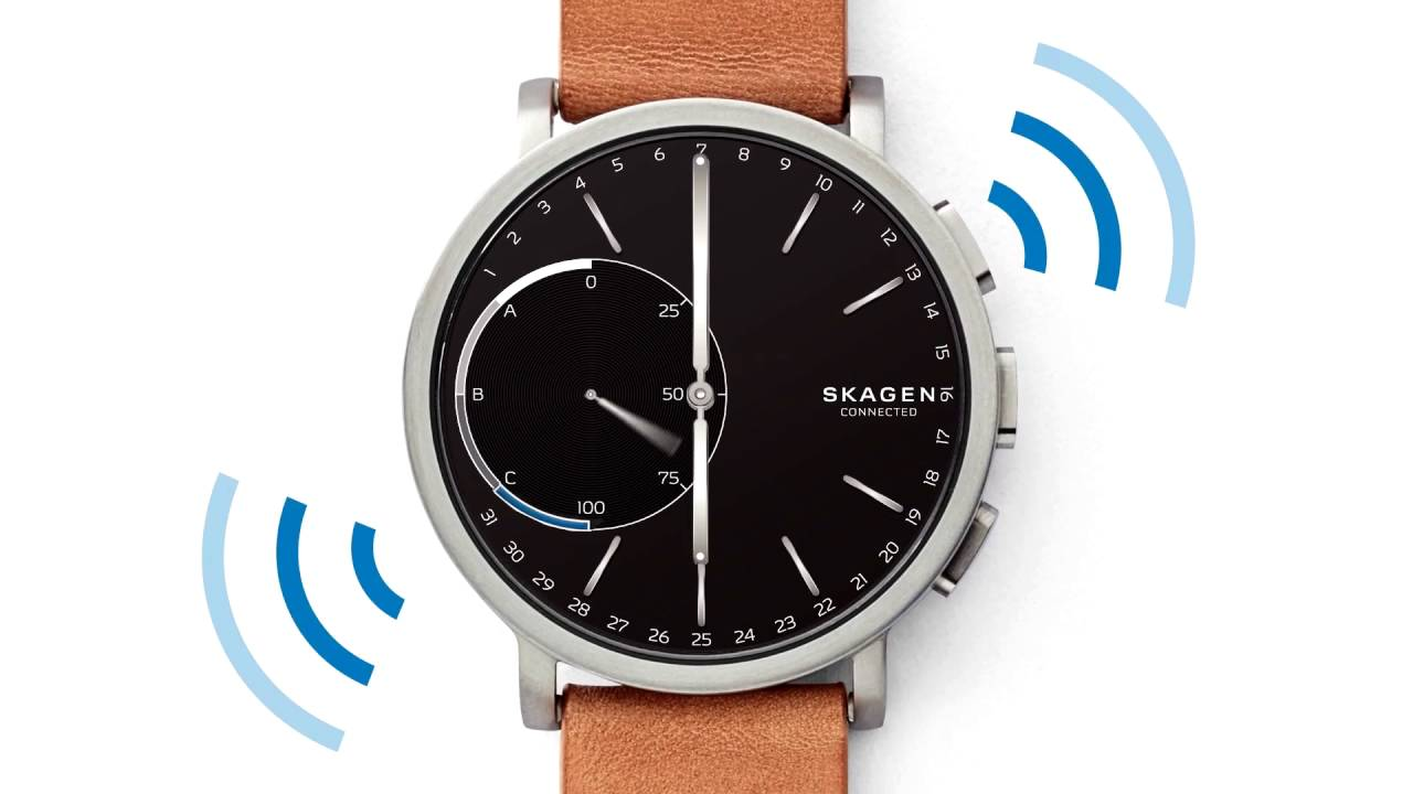 Setting Up Your Skagen Hybrid Smartwatch Youtube