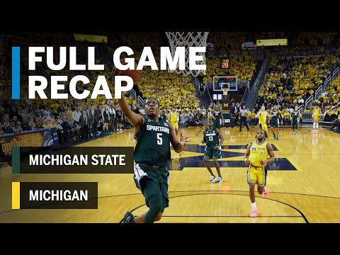 Full Game Recap: Cassius Winston Goes for 27 in Win | Michigan State vs. Michigan | Feb. 24, 2019