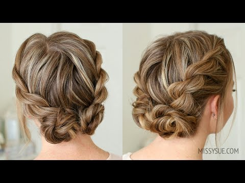 Double Twist Low Buns | Missy Sue