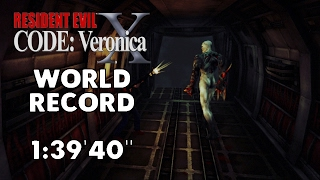 "Resident Evil: CODE: Veronica X - Any% Speedrun - 1:39'40"" [World Record]"