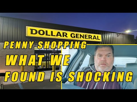 Dollar General Penny Shopping - Shocking Video - What Did We Find ?