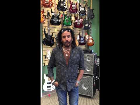 Marco Mendoza at Z Music Store Palm Coast , Florida USA