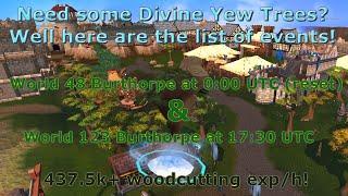 [Runescape 3] Divine Yew Trees - Best Divine location in game?