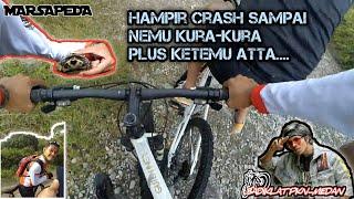 #BDPKNMEDAN #MARSAPEDA hampir crash sampai nemu kura-kura dan atta.....