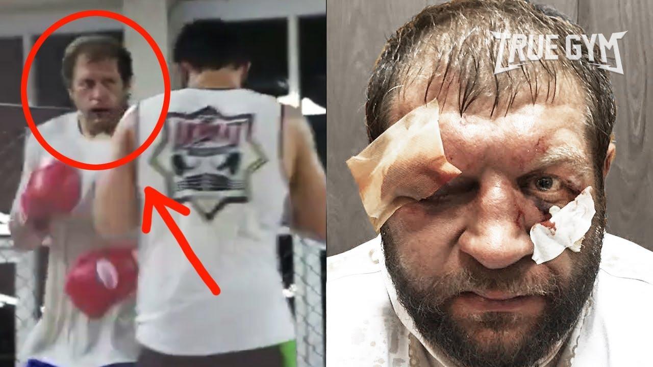 Чеченский боец положил Емельяненко / Как проходили спарринги в Ахмате / Чахкиев вызвал на бой