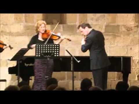 Beethoven - Serenade in D major, Op.25 - Pahut (flute), Kashimoto (violin), Poppen (viola)