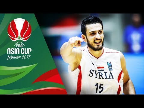 Syria - Offensive Highlights - FIBA Asia Cup 2017
