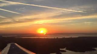Dawn Take-off from Tampa International Airport