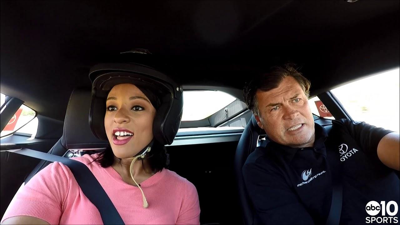 RAW | Ride along with NASCAR legend Michael Waltrip at Sonoma Raceway