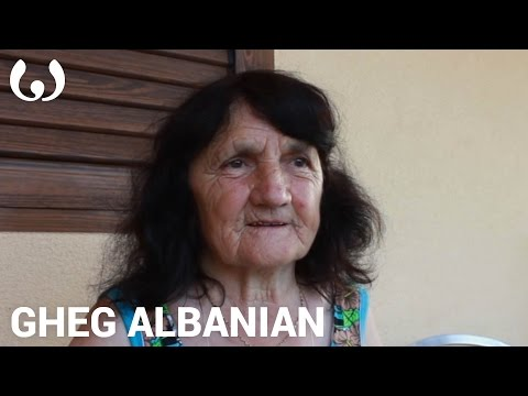 WIKITONGUES: Gjyste Speaking Gheg Albanian