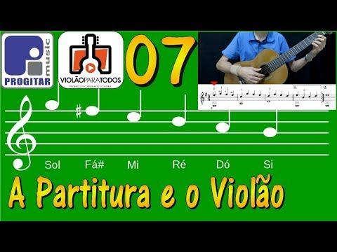 A Partitura e o Violão 07 Tema SB 1 VpT