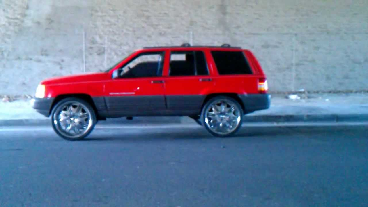 Jeep Grand Cherokee On 24s Youtube