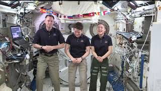 Expedition 59 Network Interviews Apr 1, 2019