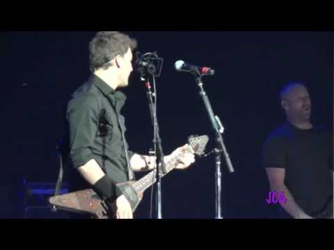 NICKELBACK - Figured You Out - Hartford CT - April 27 2012