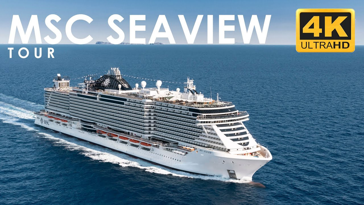 MSC Seaview Tour 4K - MSC Cruceros - YouTube