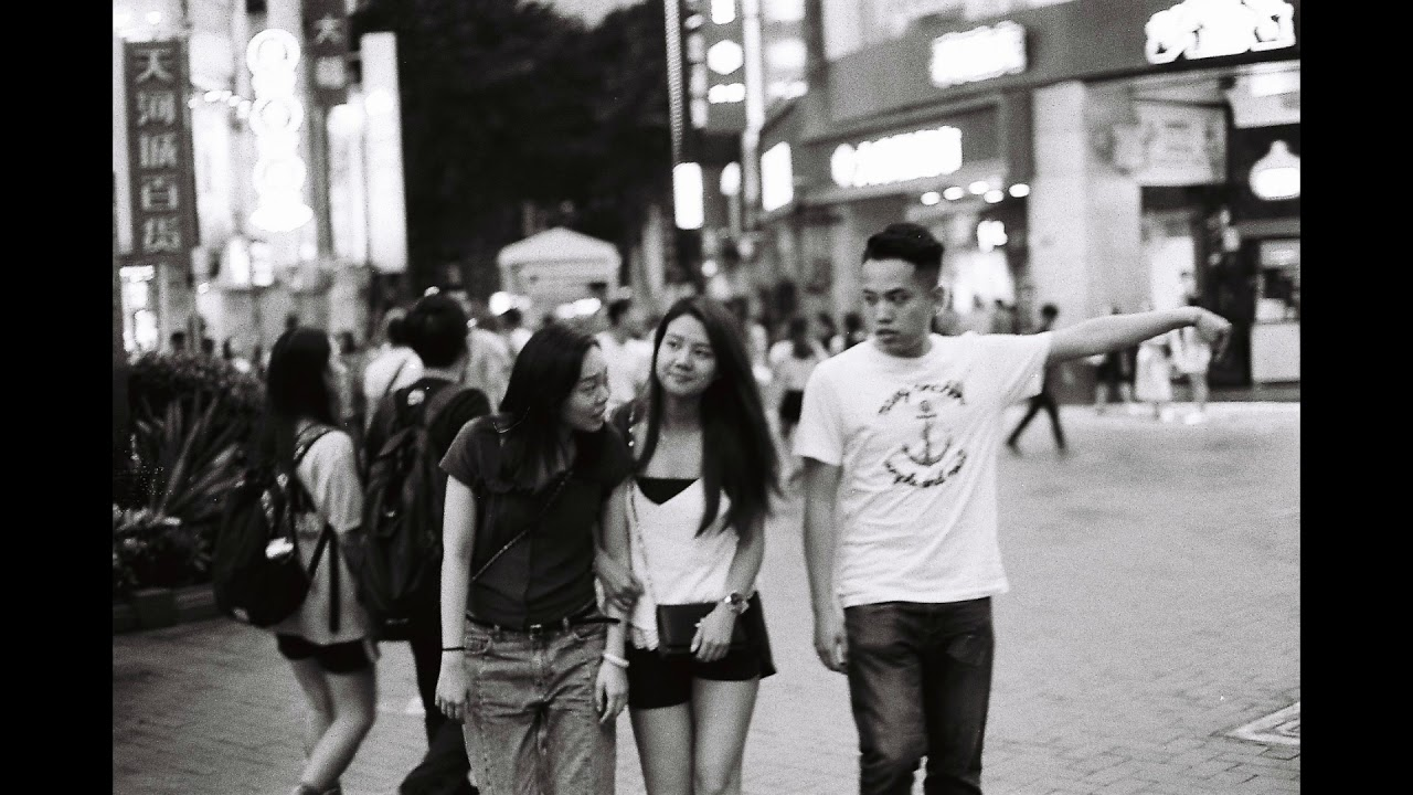 Street photography with canon ae 1 guangzhou china
