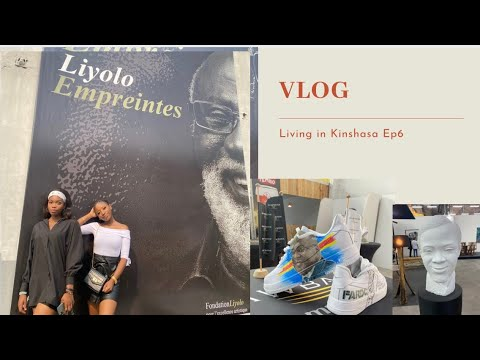 LIVING IN KINSHASA Ep6: Liyolo Museum/art gallery + Pizza date at Le Palais