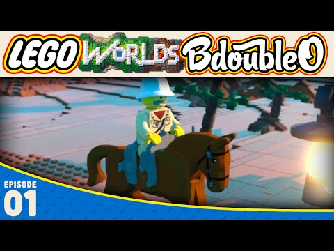 LEGO Worlds :: CREATION EXPLORATION! Part 1 [Gameplay w/ BdoubleO100]