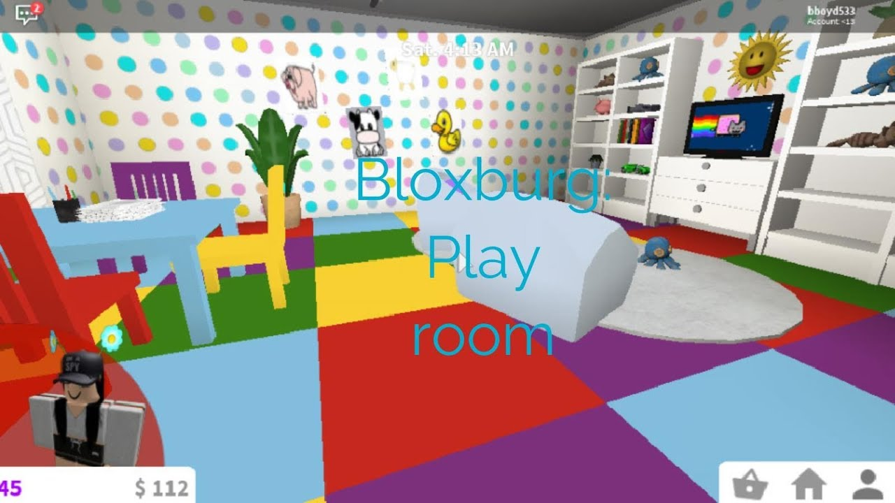 Bloxburg Adorable Play Room Youtube