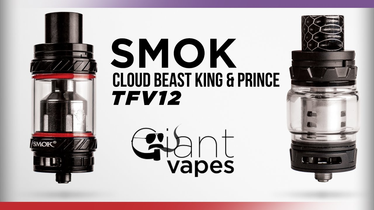 SMOK TFV12 PRINCE CLOUD BEAST TANK 8ML ATOMIZZATORE
