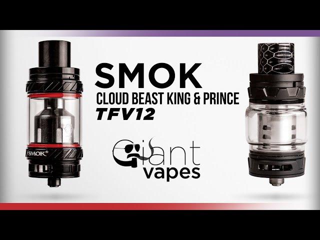SMOK TFV12 Prince vs TFV12 Cloud Beast King