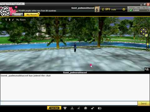 Animation 3D CHAT ROOMS