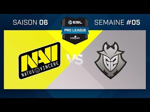 CS:GO - Na'Vi vs G2 - Nuke - ESL Pro League - Saison 6 - Map 2