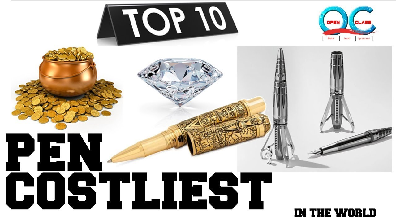 Top 10 Costliest Pen In The World 2018 Expensive Pens