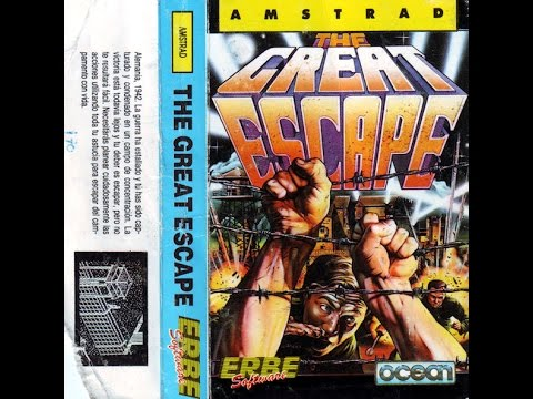 RETROJUGONES 1x18] The Great Escape (Amstrad CPC) - YouTube