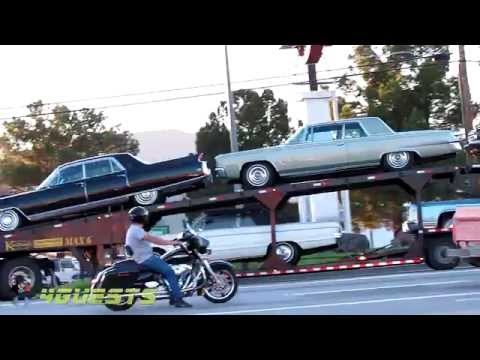 Kaufman Max 6 Car Trailer Hauler With Classic Cars Youtube