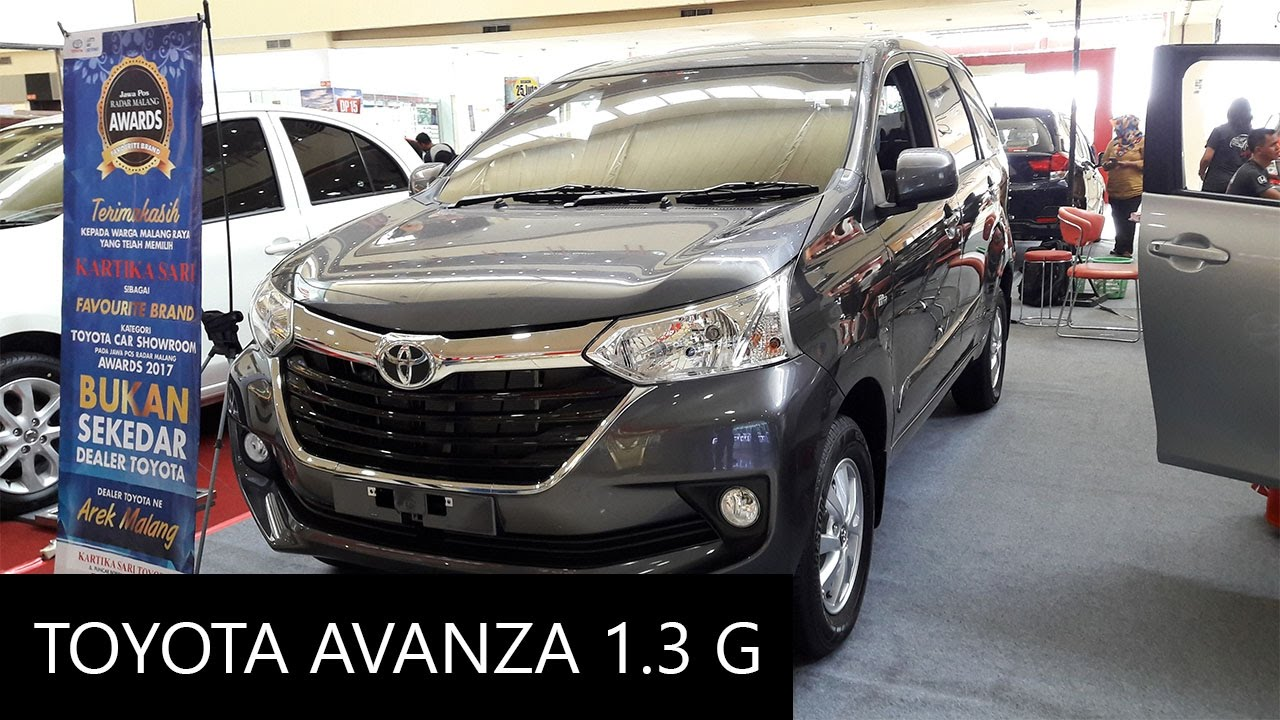 grand new avanza g 1.5 ukuran velg 2017 toyota 1 3 exterior and interior walkaround youtube