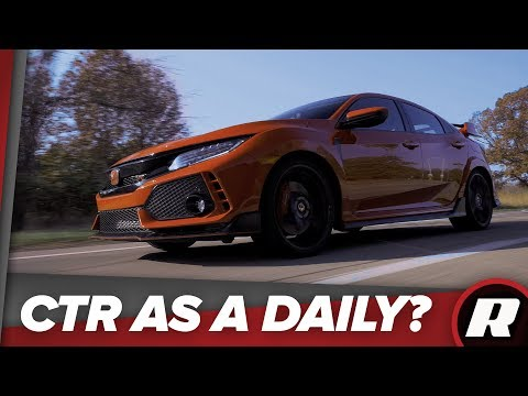 Can the 2018 Honda Civic Type R be a daily driver?