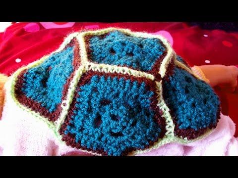 Costume Tartaruga Per Neonato Alluncinetto Guscio Parte 12 Youtube