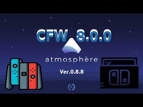 b0ec59a6a5726 Atmosphere 0.8.8 CFW 8.0.1 Nintendo Switch - YouTube